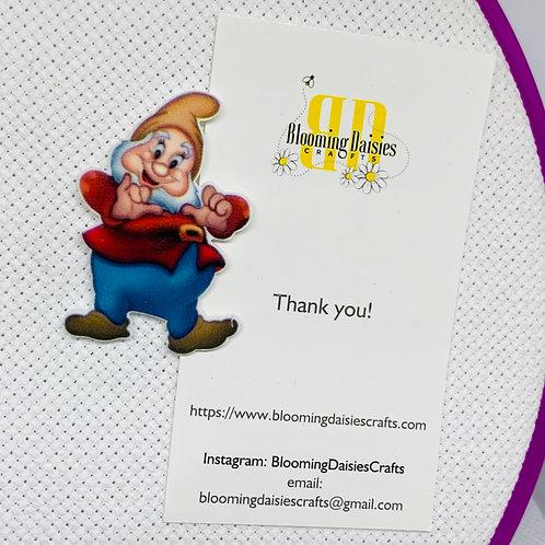 Happy - Dwarf from Snow White Needle Minder
