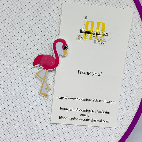 Pink Flamingo Needle Minder