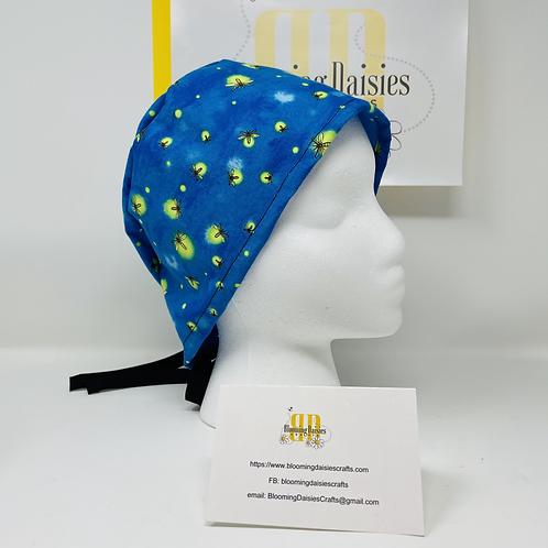 Lightning Bug Surgical Cap Hat