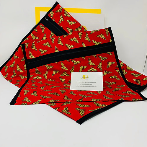 Wonder Woman Q-Snap Bags/Project Bags