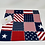 Vintage Americana WIP Dust Cover for Cross Stitch