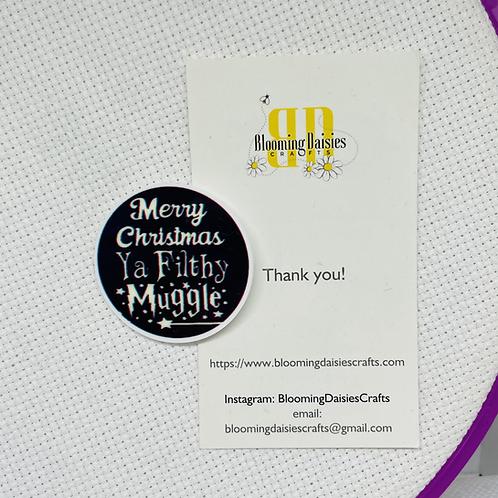 Harry Potter Muggle Christmas Needle Minder