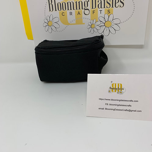 Black Smart Phone Cord Organizer/Travel Bag