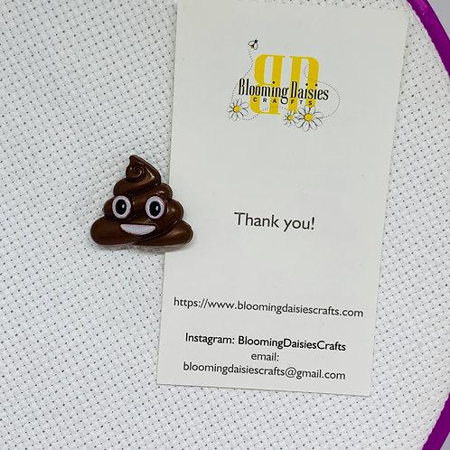 Another Poop Emoji Needle Minder