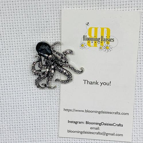 Black Octopus Needle Minder