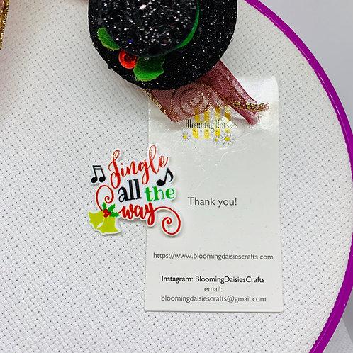 Christmas Jingle All The Way Needle Minder / Holder / Magnet