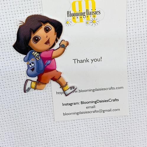 Dora the Explorer Figure Needle Minder
