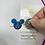 Enamel Disney Castle in Mouse Ears