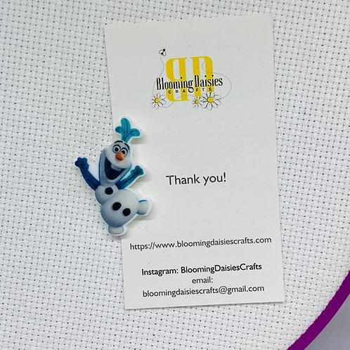 Olaf from Frozen Needle Minder / Holder / Magnet