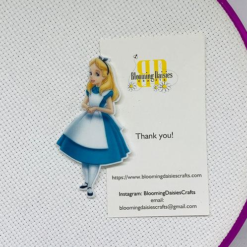 Alice in Wonderland Needle Minder