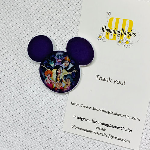 Villainesses in Mouse Ears Needle Minder