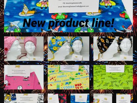 New Product Line! Surgical/Nurse Caps