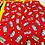 Camping Fabric WIP Needlecraft Cross Stitch Bag