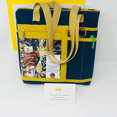 Project Bag - Small Dr. Who Exploding Tardis