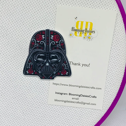 Darth Vader in Day of the Dead from Star Wars Needle Minder