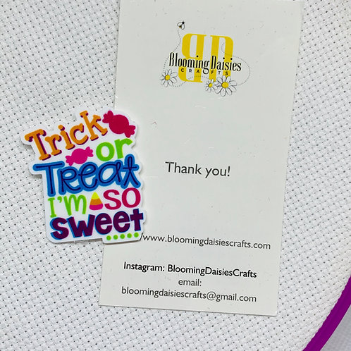 Trick or Treat Halloween Needle Minder / Holder / Magnet