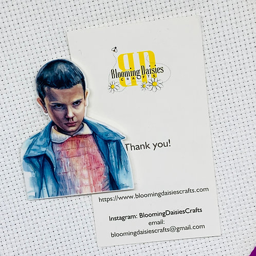 Eleven from Stranger Things Needle Minder