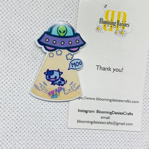 Area 51 / Alien / UFO Needle Minder
