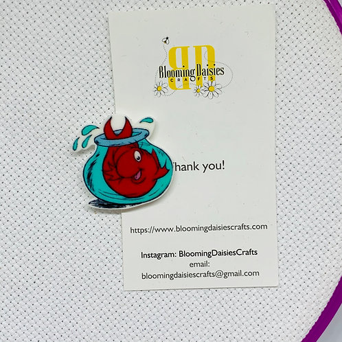 Fish in a Bowl Needle Minder