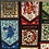 Harry Potter Houses Pattern Grime Guards for Cross Stitch, Xstitch