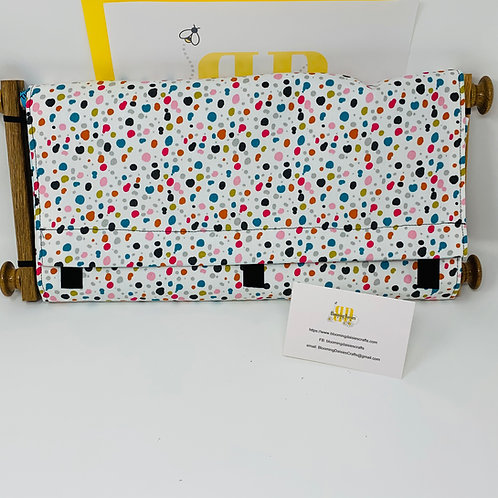 Speckled Dust Cover for Cross Stitch