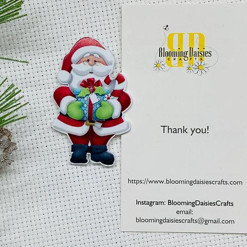 Santa w/Presents Needle Minder