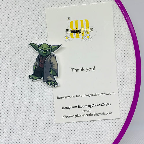 Yoda from Star Wars Needle Minder