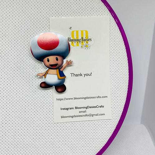 Toad - Nintendo Mario Needle Minder