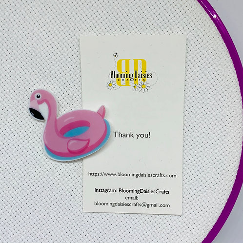 Pool Float Flamingo Needle Minder
