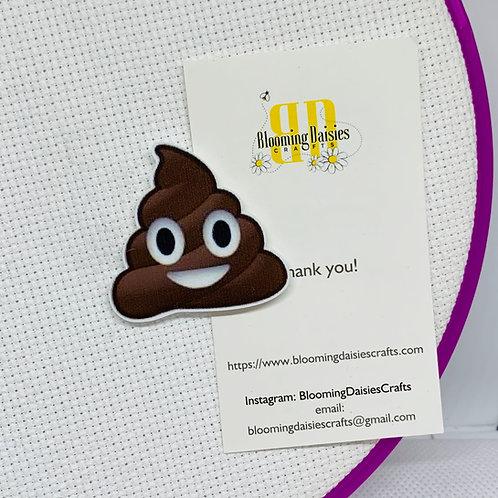 Poop Emoji Needle Minder