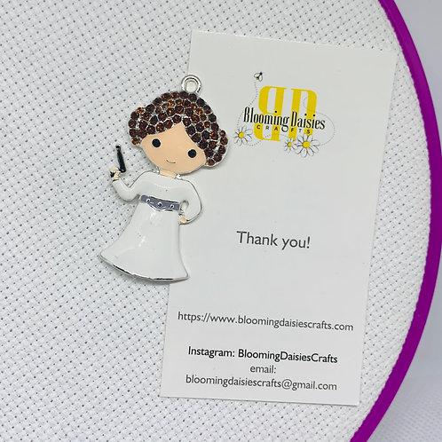 Princess Leia from Star Wars Needle Minder