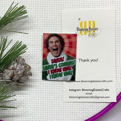 Elf Movie Christmas Needle Minder