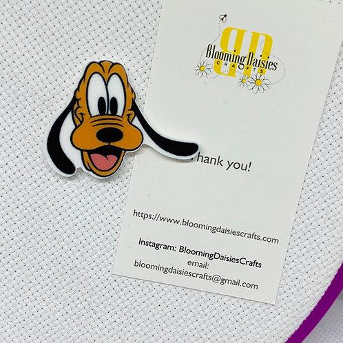 Pluto the Dog Needle Minder - Refrigerator Magnet