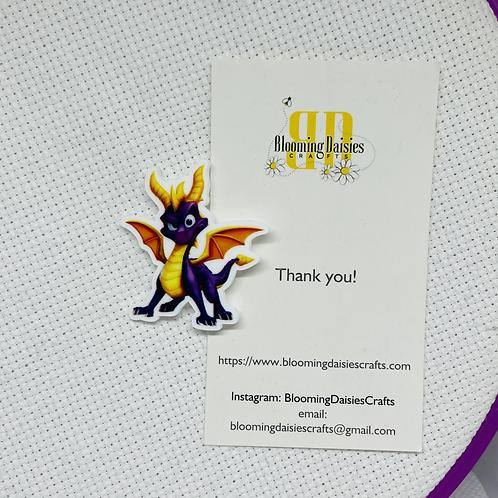 Purple Dragon Needle Minder