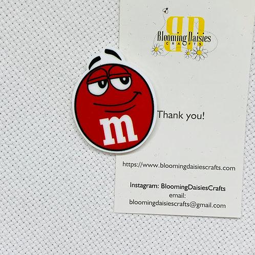 Red M&M Needle Minder