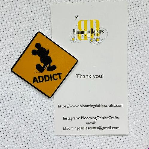 Mickey Mouse Addict Needle Minder