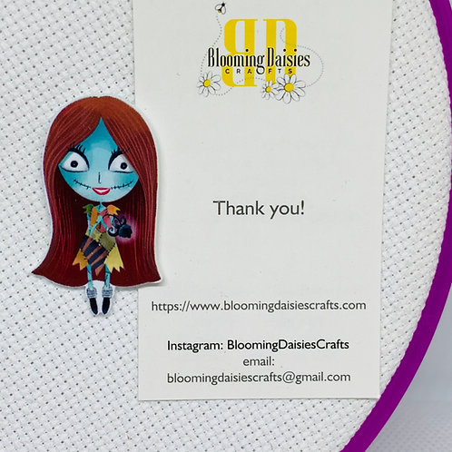 Sally from Nightmare before Christmas Needle Minder