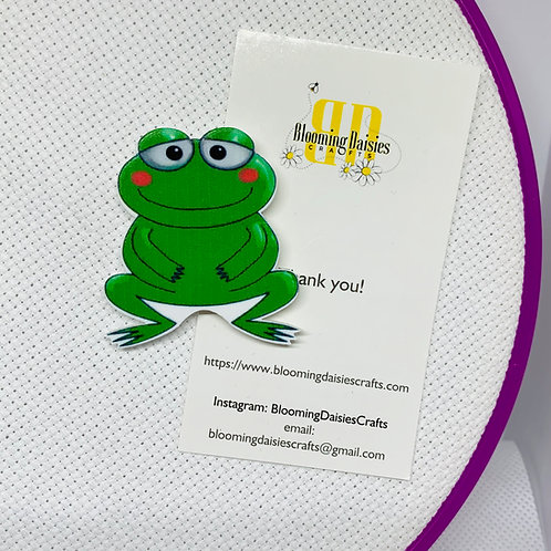 Frog Needle Minder