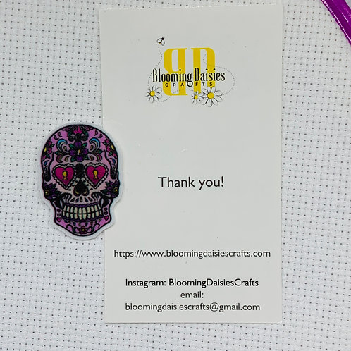 Day of the Dead / Skeleton Needle Minder