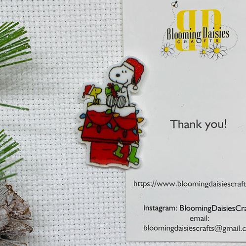 Snoopy Christmas Needle Minder