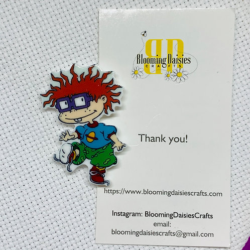 Chuckie from Rugrats Needle Minder