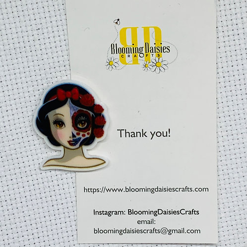 Day of the Dead -  Snow White Needle Minder