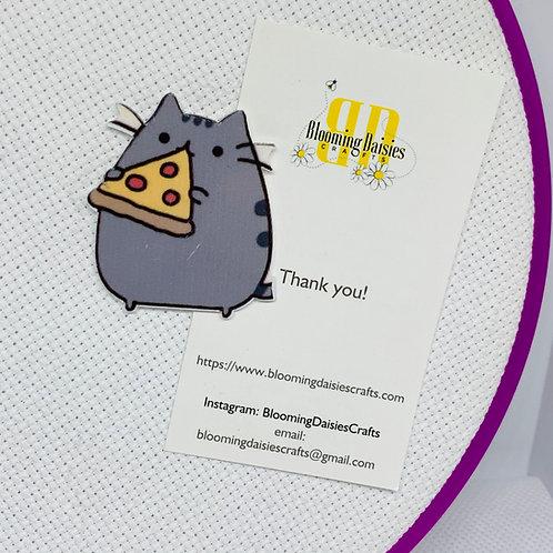 Cat / Pizza Needle Minder