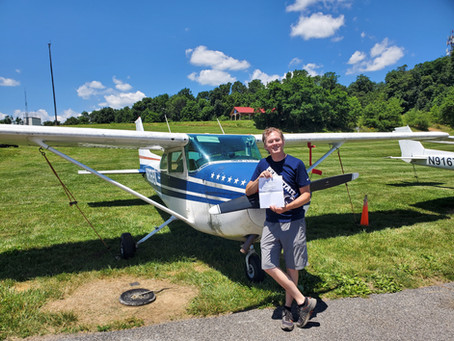 Dave Roseman, Private Pilot