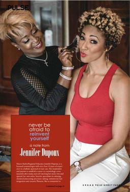 Jennifer DuPoux, Just Relax Salon and Jennifer DuPoux Consulting