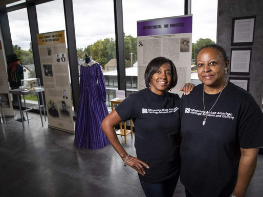 Meet Tina Burnside and Coventry Cowens, founders of Minnesota's First African American Museum