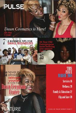 Dawn Ferguson - Frater, Daun Cosmetics