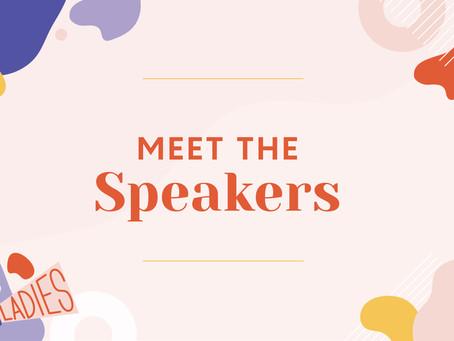 Meet The Speakers