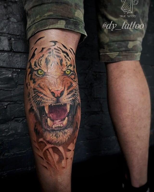 тигр тату