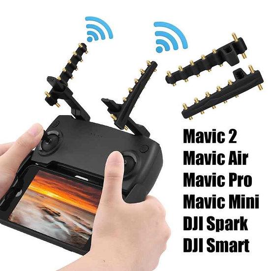 Antena amplificadora para control de drone